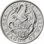 United Kingdom: The Royal Mint unleashes the Red Dragon of Wales on new silver coin