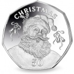 Gibraltar: First 50-pence coin issued with a Christmas theme