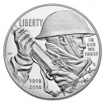 United States Mint begins sales of 2018 WWI Commemorative Silver Dollar and Companion Medal Sets on January 17