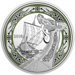 "Canada: Norse Figureheads silver coin series launches with ""Northern Fury"" long ship"
