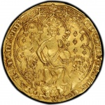 First U.S. display of rare Edward III gold double leopard, one of England's most important coins