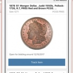 Heritage Auctions' mobile app adds PCGS coin barcode scanning