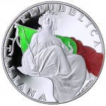 Italy: New silver coin issued to celebrate the 70th anniversary of the country's constitution
