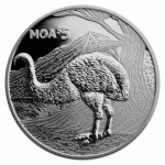 New Zealand: A giant from the past, the wingless moa, makes an appearance on new silver crown