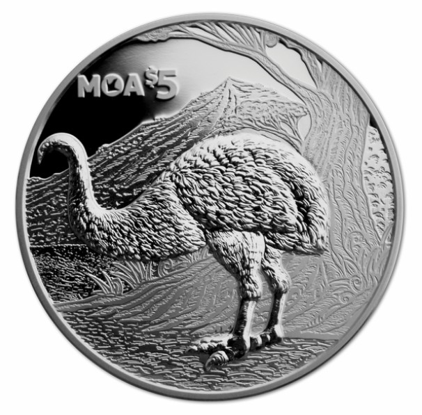New Zealand: A giant from the past, the wingless moa ...