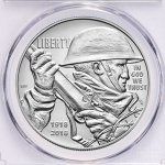 PCGS produces special World War I Centennial Silver Dollars and Service Medals Program labels