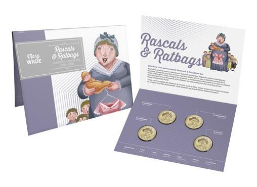Australia/'s Convict Era 1788-1868  Rascals /& Ratbags M Melbourne 2018 $1 Coin
