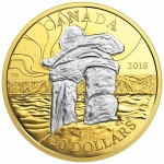 Canada: Iconic Inuksuk landmarks feature on new gold-plated silver coin