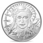 France: Second set of Marianne trilogy collector coins features Égalité theme