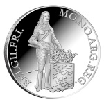 Netherlands: Latest silver Proof ducat coin features the historical province of Friesland