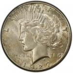 Grading Uncirculated Peace dollars
