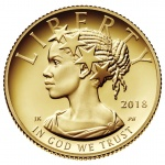 United States Mint issues One-Tenth Ounce American Liberty Gold Proof Coin on February 8