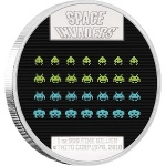 40th anniversary of <em>Space Invaders</em> recognized with new one-ounce silver coin