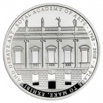 United Kingdom: Academy of Arts features on new £5 crown coin