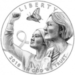 Pricing for the 2018 Breast Cancer Awareness Commemorative Coin Program