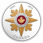 Canada: New silver coin recognises 25 years of courage in combat