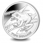Fiji: Tree frog featured on new titanium crown coin