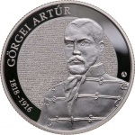 Hungary: New silver coin honours army officer Artúr Görgei on the 200th anniversary of his birth