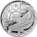Italy: Latest coin in the Europa Star Programme series features the Baroque period of art