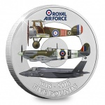 Jersey: Centenary anniversary of the Royal Air Force celebrated on new crown coin