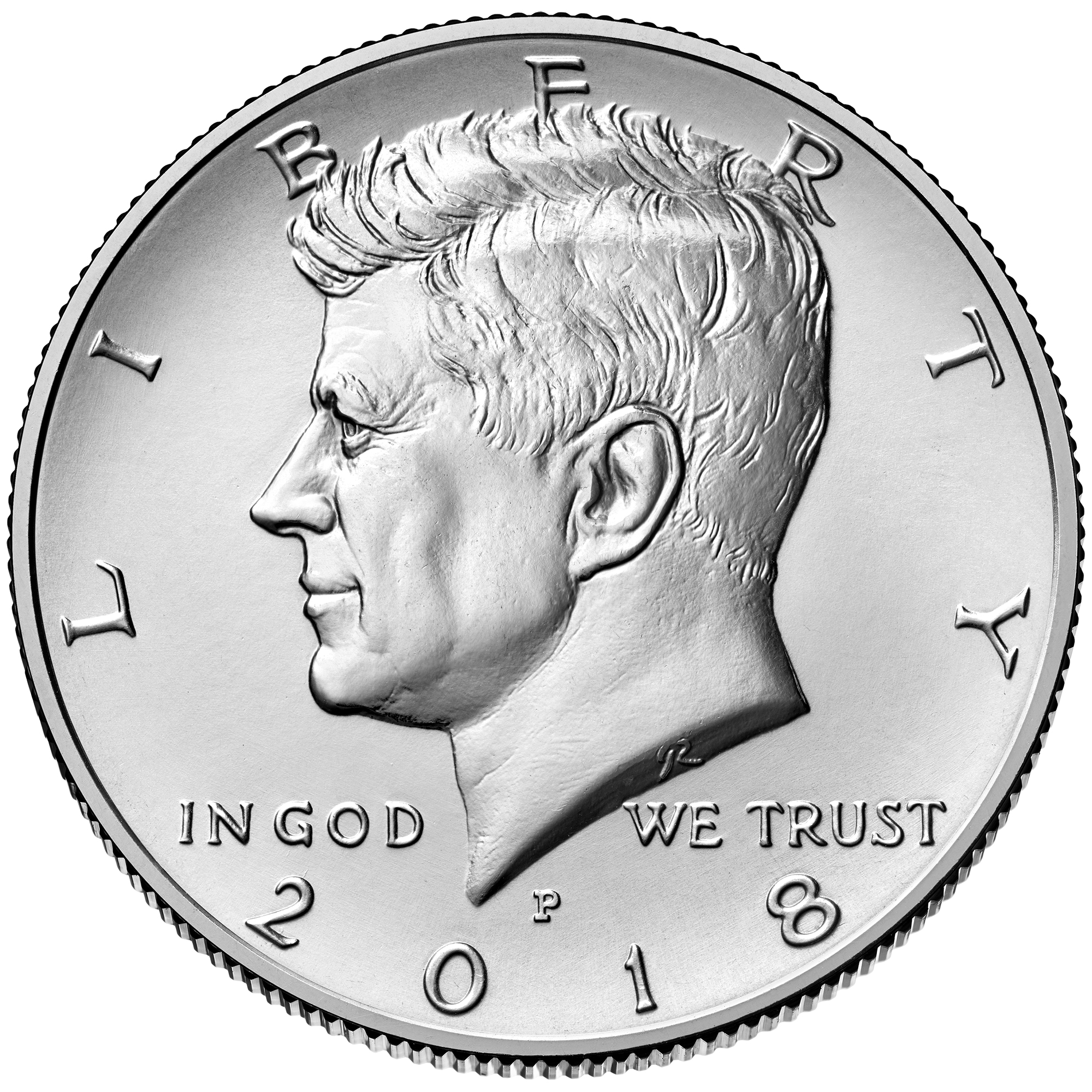 BU Uncirculated from Mint Rolls or Bags 2018-D Kennedy Half Dollar