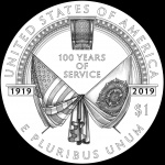 The CCAC's recommended designs for the 2019 American Legion coins