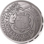 Andorra: Constitution's 25th anniversary celebrated with first-ever gold and silver commemorative coins