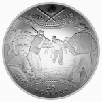 Canada: Silver dome-shaped coin celebrates 180 years of Canadian baseball
