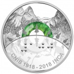 The Royal Canadian Mint launches an innovative coin and medallion set honouring the 100th anniversary of the Canadian National Institute for the Blind