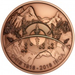 Canada: New commemorative coin and specially struck medallion celebrate the centenary anniversary of the Canadian National Institute for the Blind