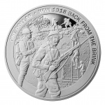 "New Zealand: The Great War centenary anniversary series concludes with final ""Back from the Brink"" gold and silver coins"