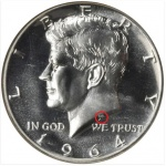 Q&A: Do some Kennedy half dollars show where President Kennedy was hit by the assassin's bullet?