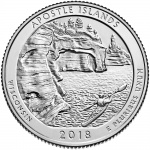 United States Mint to hold Apostle Islands National Lakeshore quarter launch ceremony on April 11