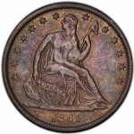 1861 Confederate half dollar to be displayed at ANA 2018 Philadelphia World's Fair of Money