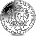 Ascension: Royal wedding of HRH Prince Henry of Wales celebrated on latest crown coin
