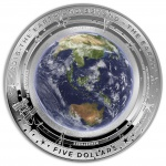 "Australia: New series ""The Earth and Beyond"" launches with silver coin dedicated to our home planet"