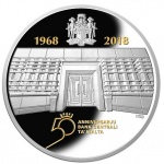 Malta: New silver and gold coins celebrate 50th anniversary of Central Bank