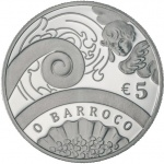 Portugal: Europa gold and silver coins celebrate and feature the Baroque Age
