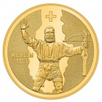 Switzerland: New gold coin is dedicated to the legend of William Tell, the most famous Swiss persona