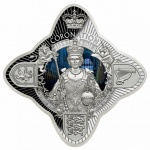 Tokelau: Unique royal star-shaped coin celebrates Sapphire Jubilee of Queen's coronation