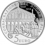 Italy: Latest silver collector coin salutes the medieval cathedral of Santa Maria Assunta in Pisa