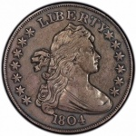 Fabled 1804 dollar among PCGS-certified highlights in Heritage's June Long Beach Auction
