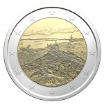 Finland: Scenic splendour of the Koli National Park in North Karelia depicted on latest €2 commemorative coin