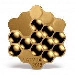 Latvia: Extraordinary new coin highlights country's love of honey and beekeeping