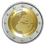 Slovenia: New commemorative €2 coin marks first World Bee Day