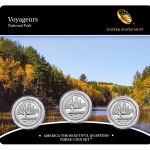 United States Mint to release America the Beautiful Quarters Three-Coin Set of Voyageurs National Park quarters on June 19