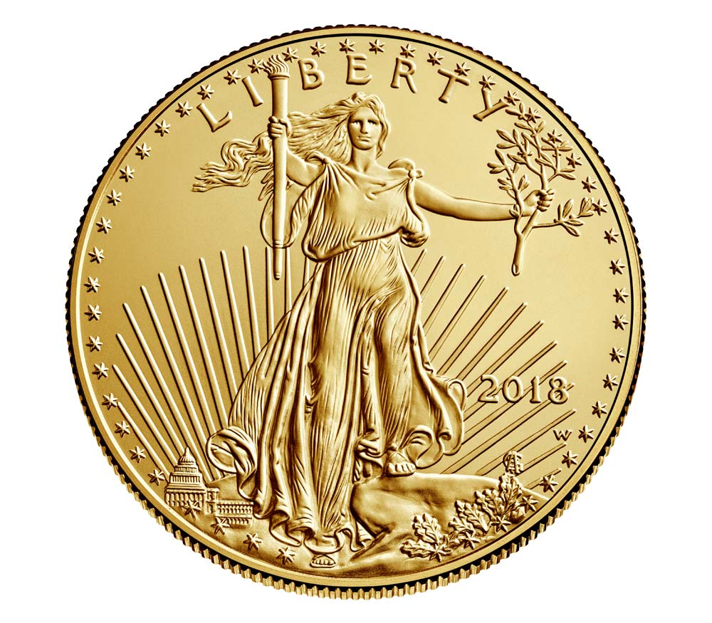 2018 American Eagle One Ounce Gold Uncirculated Coin To Go