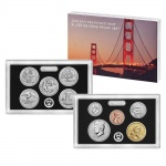 The San Francisco Mint's 2018 Silver Reverse Proof Set to go on sale July 23