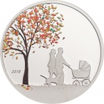 The Indian Summer globe coin