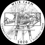 The CCAC and the 2020 and 2021 America the Beautiful quarters: Weir Farm